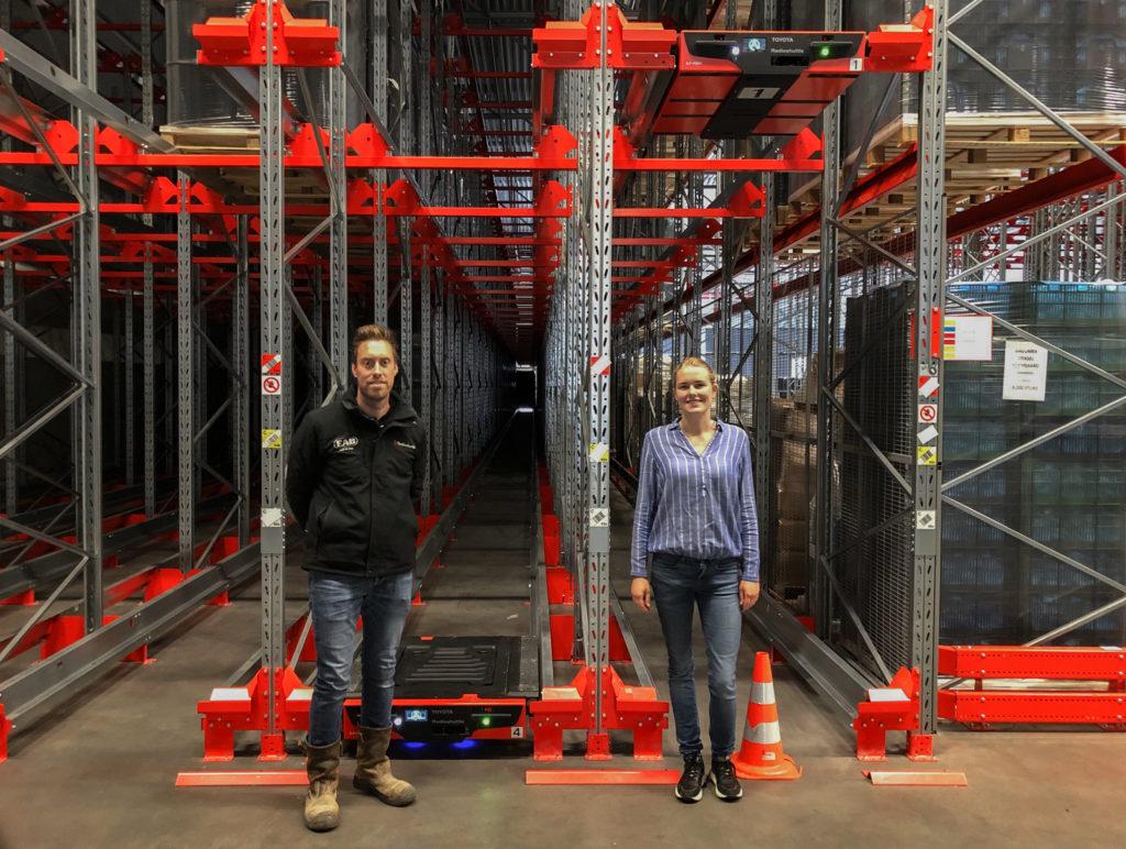 optimize warehouse shuttle